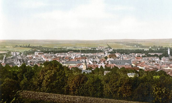 Arnstadt um 1900