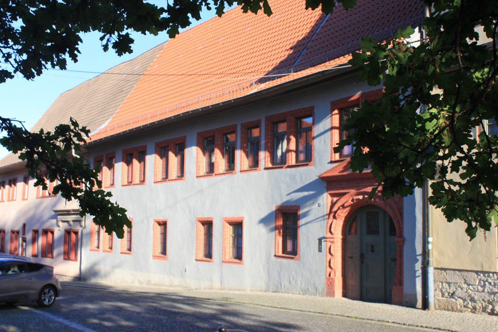 Fassade Ferienwohnung Zum Trappen